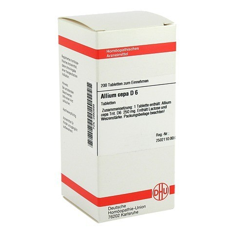 ALLIUM CEPA D 6 Tabletten 200 Stück N2