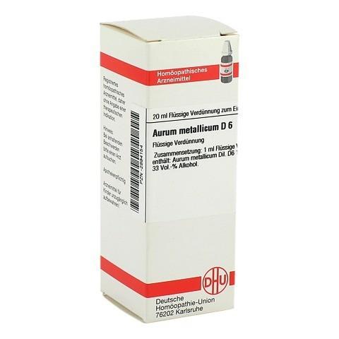 AURUM METALLICUM D 6 Dilution 20 Milliliter N1
