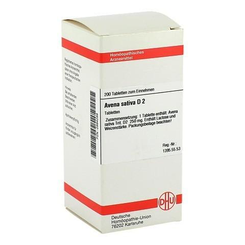 AVENA SATIVA D 2 Tabletten 200 Stück N2
