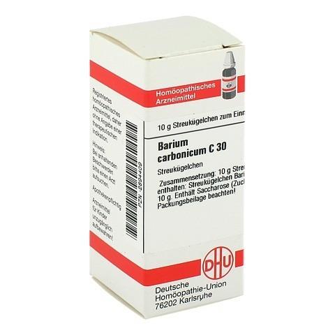 BARIUM CARBONICUM C 30 Globuli 10 Gramm N1