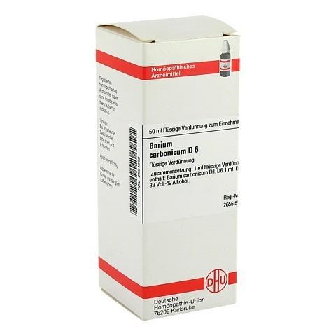 BARIUM CARBONICUM D 6 Dilution 50 Milliliter N1