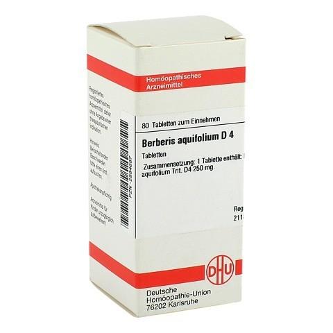 BERBERIS AQUIFOLIUM D 4 Tabletten 80 Stück N1