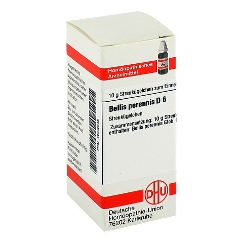 BELLIS PERENNIS D 6 Globuli 10 Gramm N1
