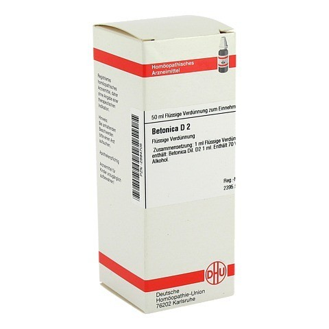 BETONICA D 2 Dilution 50 Milliliter N1