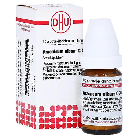 ARSENICUM ALBUM C 200 Globuli 10 Gramm N1