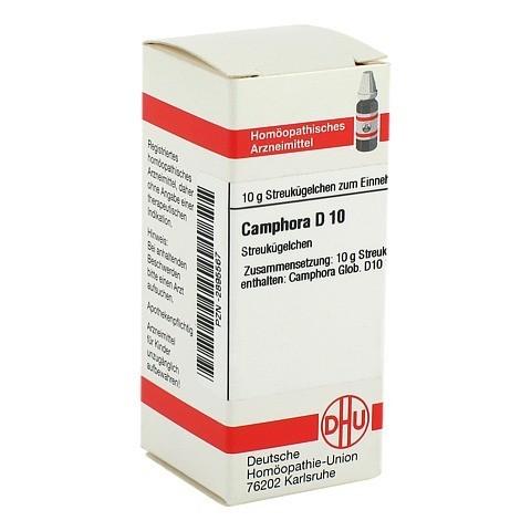 CAMPHORA D 10 Globuli 10 Gramm N1