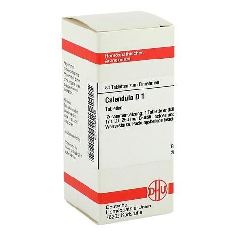 CALENDULA D 1 Tabletten 80 Stück N1