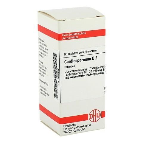 CARDIOSPERMUM D 2 Tabletten 80 Stück N1