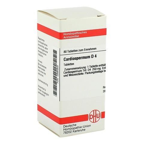 CARDIOSPERMUM D 4 Tabletten 80 Stück N1