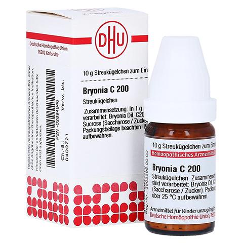 BRYONIA C 200 Globuli 10 Gramm N1