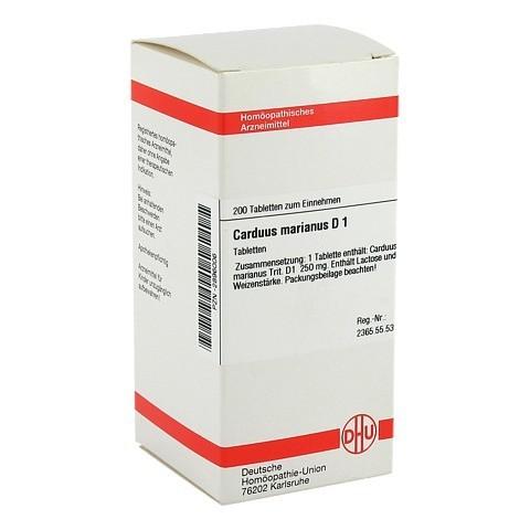 CARDUUS MARIANUS D 1 Tabletten 200 Stück N2