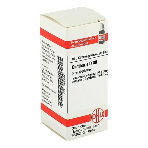 CANTHARIS D 30 Globuli 10 Gramm N1