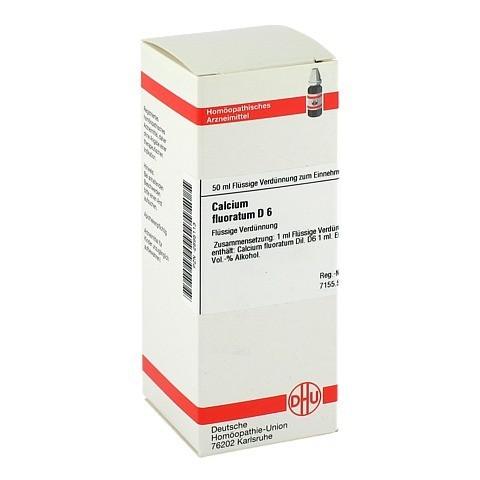 CALCIUM FLUORATUM D 6 Dilution 50 Milliliter N1