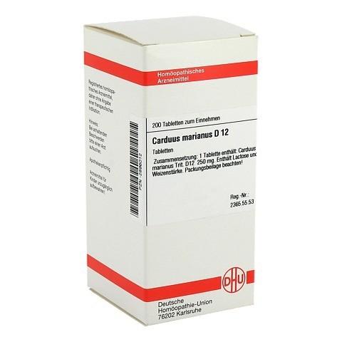 CARDUUS MARIANUS D 12 Tabletten 200 Stück N2
