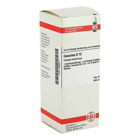 COCCULUS D 12 Dilution 50 Milliliter N1