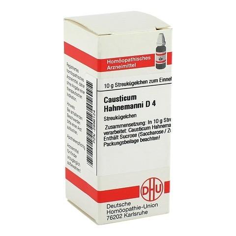 CAUSTICUM HAHNEMANNI D 4 Globuli 10 Gramm N1