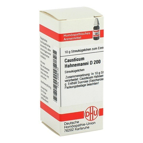 CAUSTICUM HAHNEMANNI D 200 Globuli 10 Gramm N1