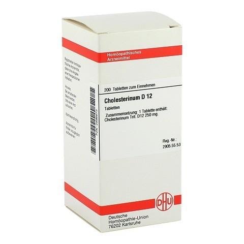 CHOLESTERINUM D 12 Tabletten 200 Stück N2