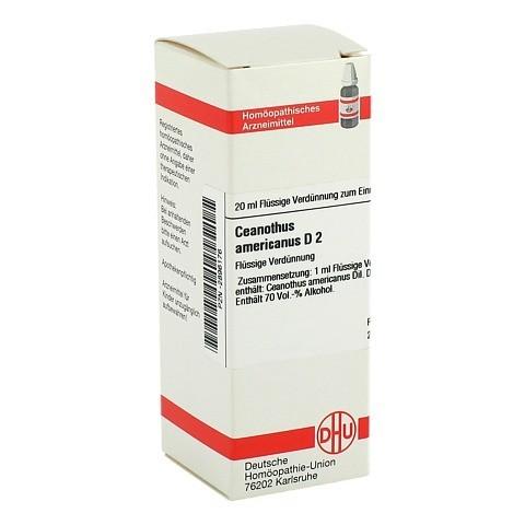 CEANOTHUS AMERICANUS D 2 Dilution 20 Milliliter N1