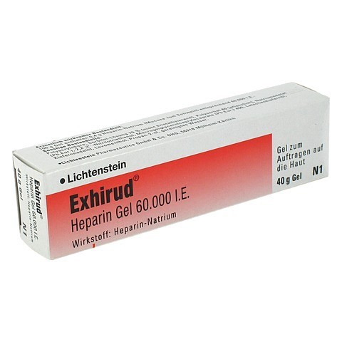 Exhirud Heparin 60000I.E. 40 Gramm N1
