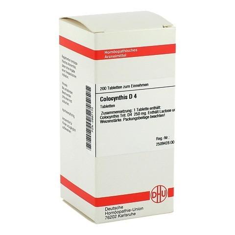 COLOCYNTHIS D 4 Tabletten 200 Stück N2