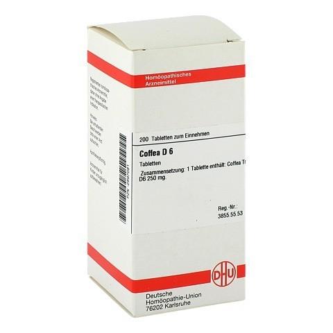 COFFEA D 6 Tabletten 200 Stück N2