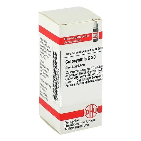 COLOCYNTHIS C 30 Globuli 10 Gramm N1