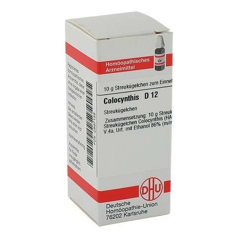 COLOCYNTHIS D 12 Globuli 10 Gramm N1