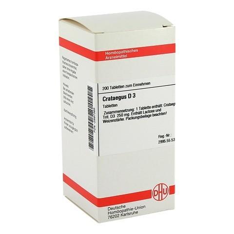 CRATAEGUS D 3 Tabletten 200 Stück N2