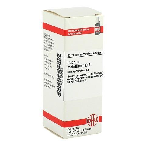 CUPRUM METALLICUM D 6 Dilution 20 Milliliter N1