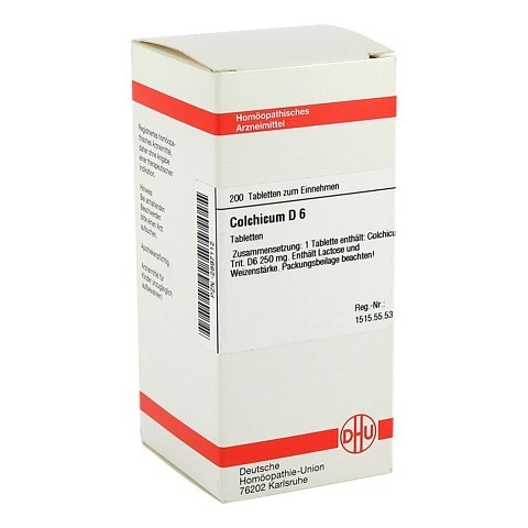 COLCHICUM D 6 Tabletten 200 Stück N2