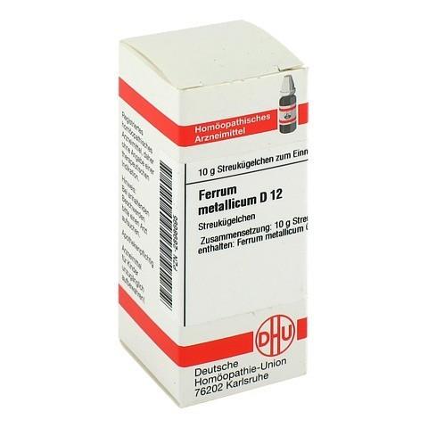 FERRUM METALLICUM D 12 Globuli 10 Gramm N1