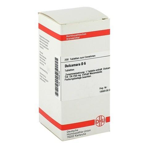 DULCAMARA D 6 Tabletten 200 Stück N2