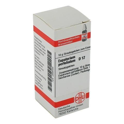 EUPATORIUM PERFOLIATUM D 12 Globuli 10 Gramm N1