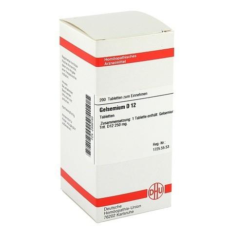 GELSEMIUM D 12 Tabletten 200 Stück N2