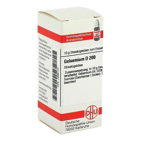 GELSEMIUM D 200 Globuli 10 Gramm N1