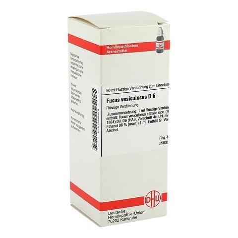 FUCUS VESICULOSUS D 6 Dilution 50 Milliliter N1