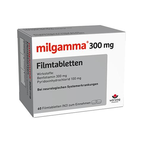 MILGAMMA 300 mg Filmtabletten 60 Stück N2