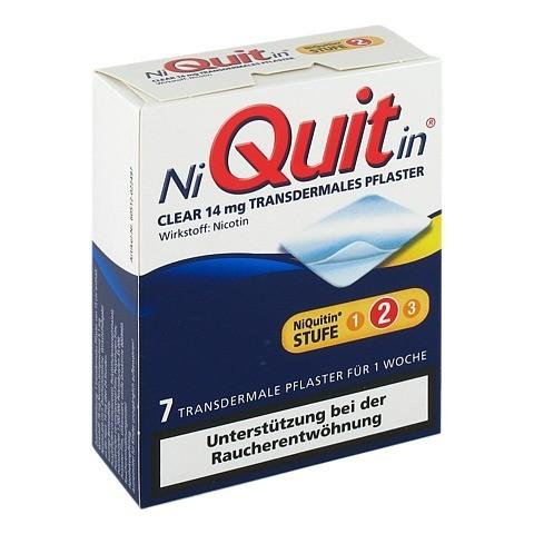 NiQuitin Clear 14mg/24 Stunden 7 Stück