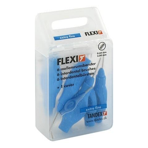 TANDEX FLEXI Interdental Bürste 0,6 mm blau 6 Stück