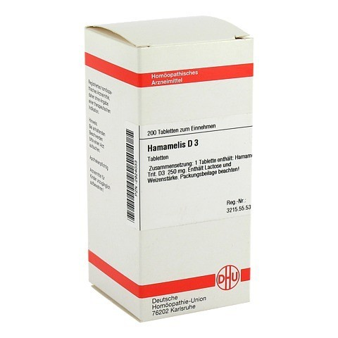 HAMAMELIS D 3 Tabletten 200 Stück N2