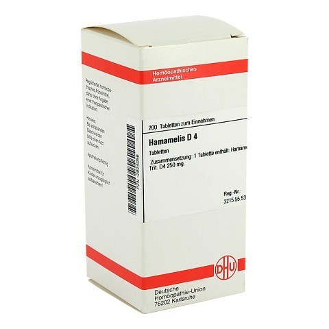 HAMAMELIS D 4 Tabletten 200 Stück N2