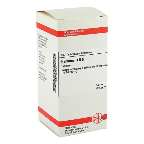 HAMAMELIS D 6 Tabletten 200 Stück N2