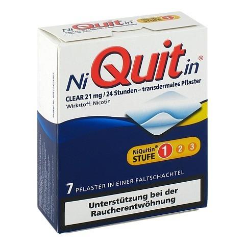 NiQuitin Clear 21mg/24 Stunden 7 Stück