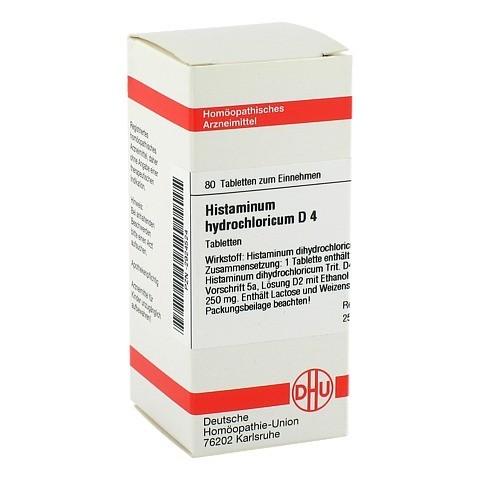 HISTAMINUM hydrochloricum D 4 Tabletten 80 Stück N1