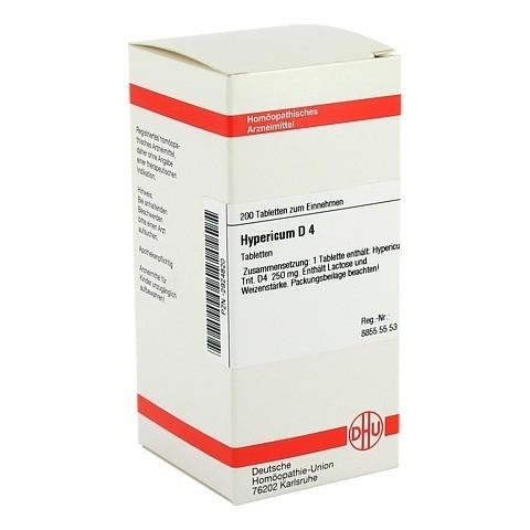 HYPERICUM D 4 Tabletten 200 Stück N2