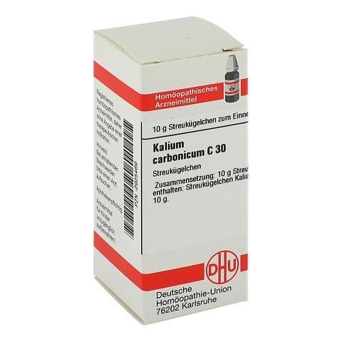 KALIUM CARBONICUM C 30 Globuli 10 Gramm N1