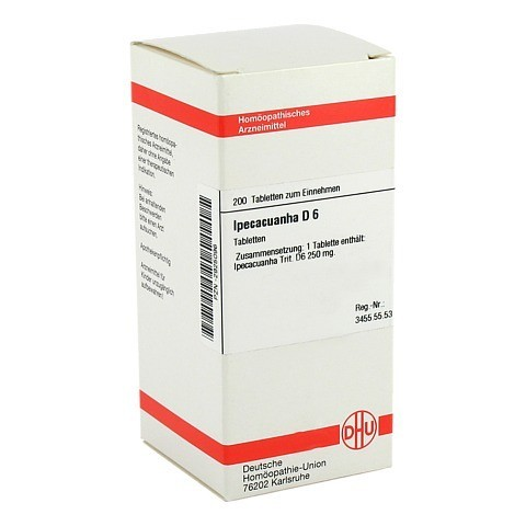 IPECACUANHA D 6 Tabletten 200 Stück N2