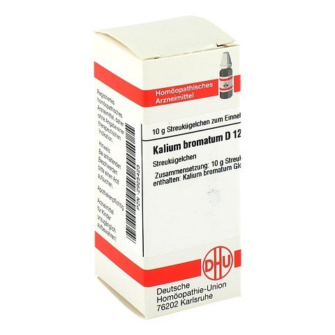 KALIUM BROMATUM D 12 Globuli 10 Gramm N1