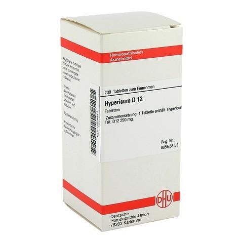 HYPERICUM D 12 Tabletten 200 Stück N2